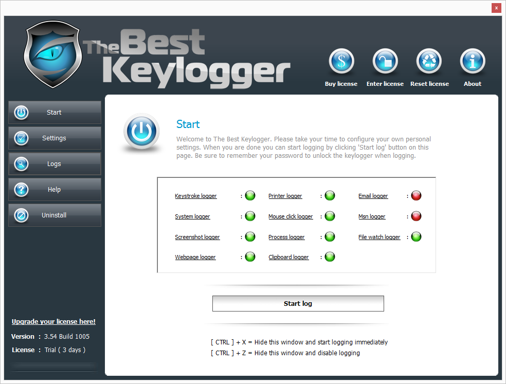 Wolfeye Keylogger - Best Keylogger Software for Windows